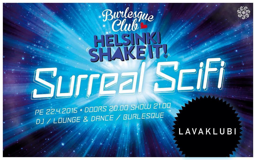 Next Helsinki Shake It! Burlesque Club April 22nd @lavaklubi Performing @venomousdemise @strawberrydelirium @hentity @epedog @stellapolaire @missacrolicious @rhea_gone #anicecupoftease